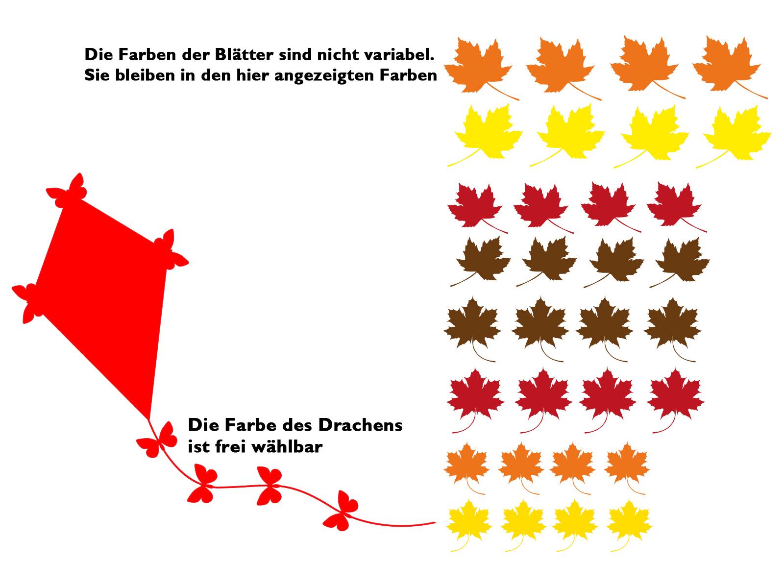 Wandtattoo Kinderzimmer Drachen Steigen Im Herbst