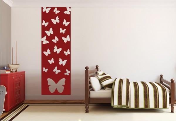 """Wandtattoo - Wandbanner Kinderzimmer """"Schmetterlinge"""""""