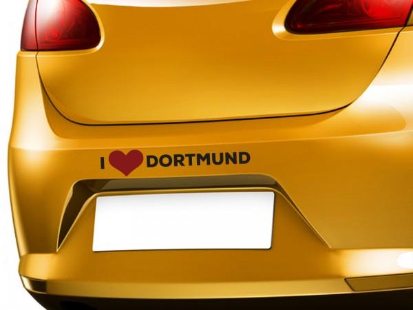 """Autoaufkleber mit Wunschnamen """"I ♥ Meine Stadt"""""""