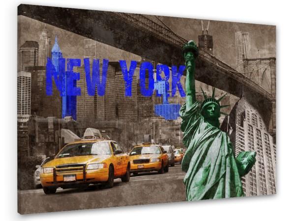 "Leinwandbild ""New York Signs"""