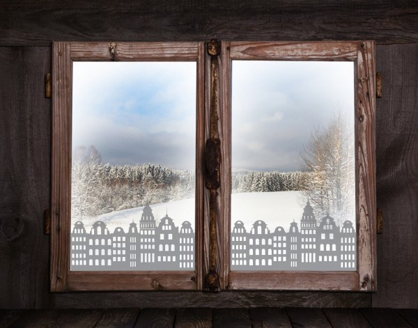 "Fenstertattoos ""Häuser"""