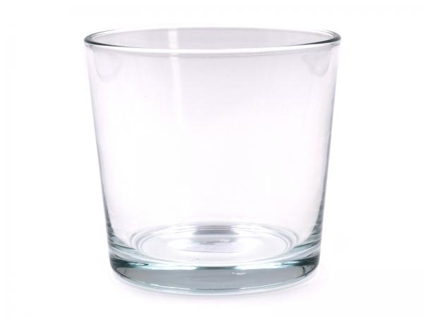 Moderner Glastopf D=11,5cm 1er & 6er Pack