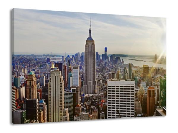 "Leinwandbild ""New York Citymaps"""