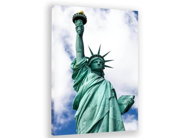 "Leinwandbild ""New York Statue of liberty"""