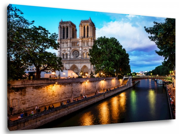 """Leinwandbild """"Paris Notre Dame"""""""