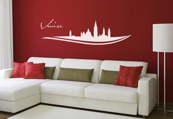 """Wandtattoo Schlafzimmer / Wohnzimmer """"Venice Italy"""""""
