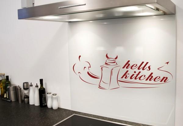 """Wandtattoo Küche """"Hells Kitchen"""""""