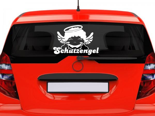 "Autoaufkleber ""Schutzsengel"""