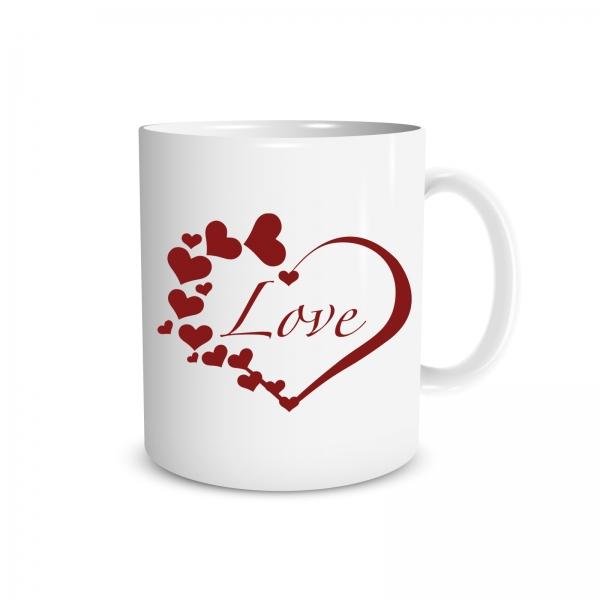 Tasse - Herz und Liebe - LOVE - 330ml