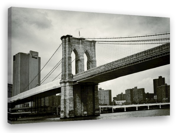"Leinwandbild ""New York Brooklyn Bridge"""