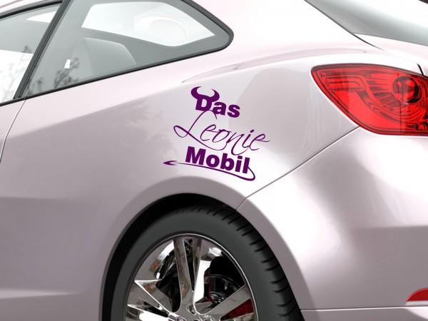 "Autoaufkleber mit Wunschnamen ""Das Mobil"""