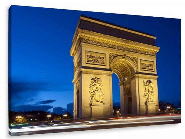 "Leinwandbild ""Paris Arc De Triomphe"""