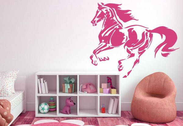 """Wandtattoo Kinderzimmer """"Pferd Galopp 1"""""""