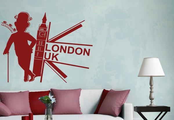 "Wandtattoo ""London Uk Collage"""