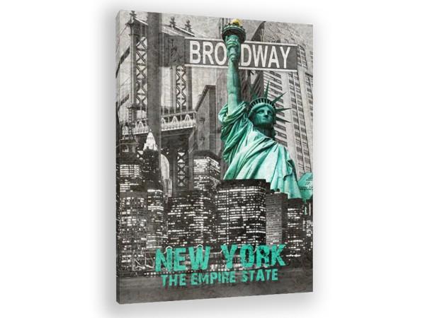 "Leinwandbild ""New York The Empire State"""