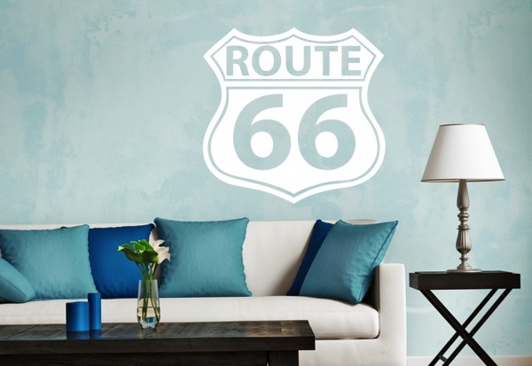 "Wandtattoo ""Route 66 Sign2"""