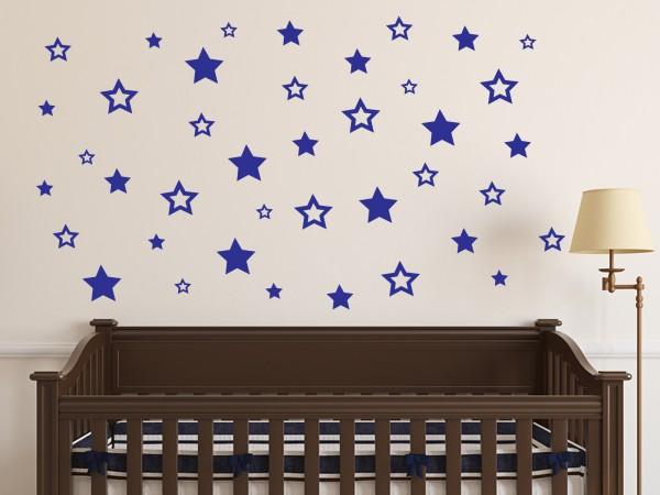 Wandtattoo - Sterne Set