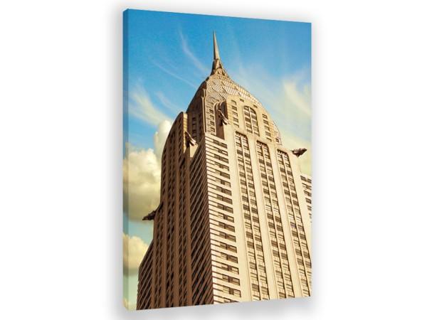 "Leinwandbild ""New York Empire State Building"""