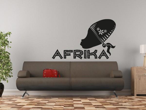 Afrika-Wandtattoo African People