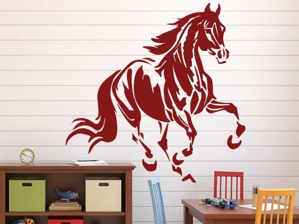 """Wandtattoo Kinderzimmer """"Pferd Trab"""""""