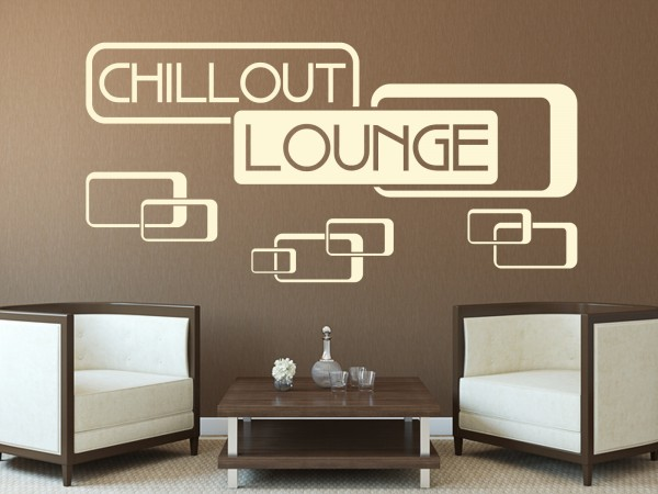 Wandtattoo - Chillout Lounge