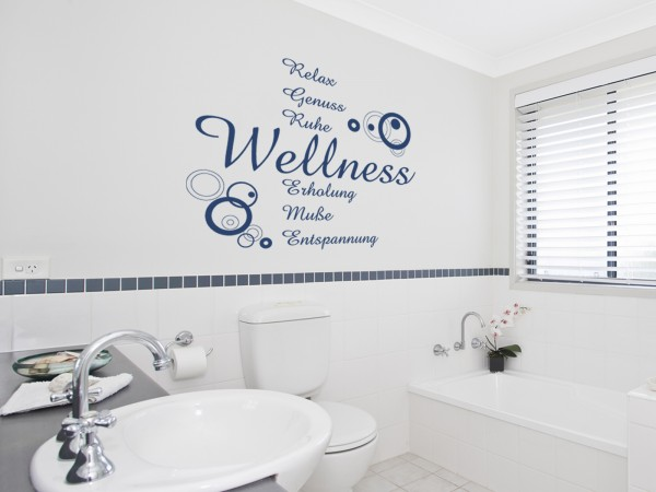Wandtattoo - Wellness