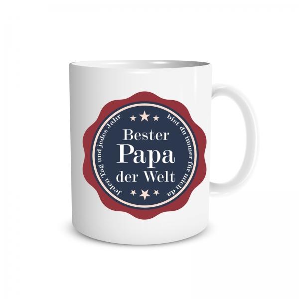 Tasse - Bester Papa der Welt - 330ml