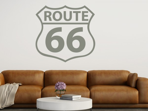 "Wandtattoo ""Route 66 Sign"""