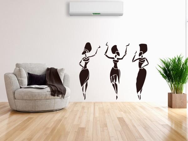 Afrika-Wandtattoo Afrikanische Frauen