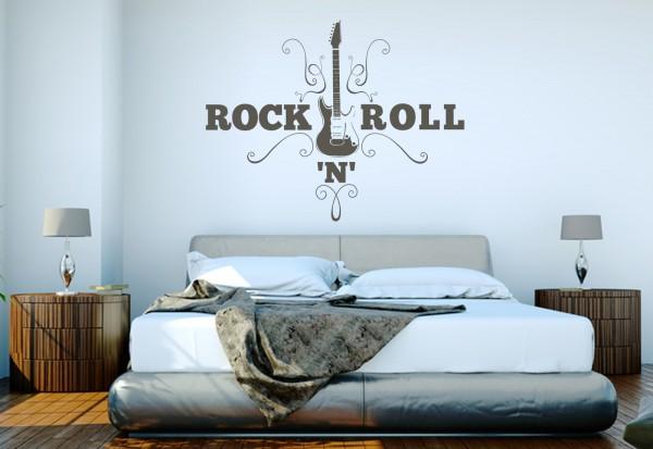 "Wandtattoo ""Rock'n'Roll"""
