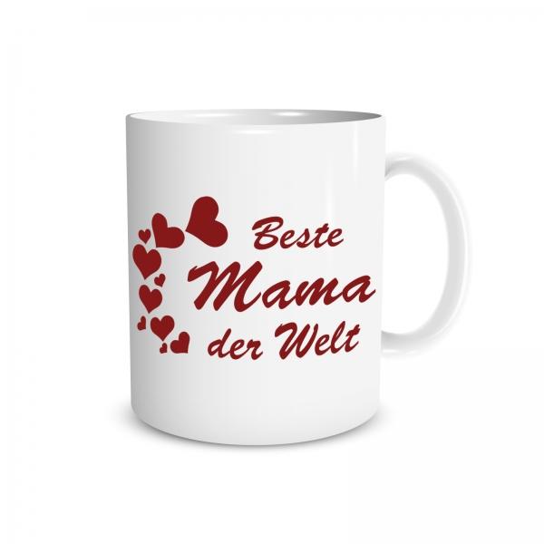 Tasse - Beste Mama der Welt - 330ml