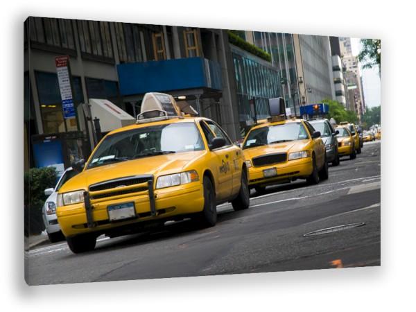 "Leinwandbild ""New York Taxi"""