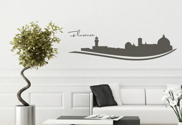 """Wandtattoo Schlafzimmer / Wohnzimmer """"Florence Italy"""""""