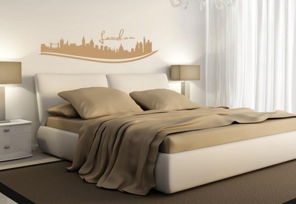 """Wandtattoo Schlafzimmer / Wohnzimmer """"London Uk"""""""