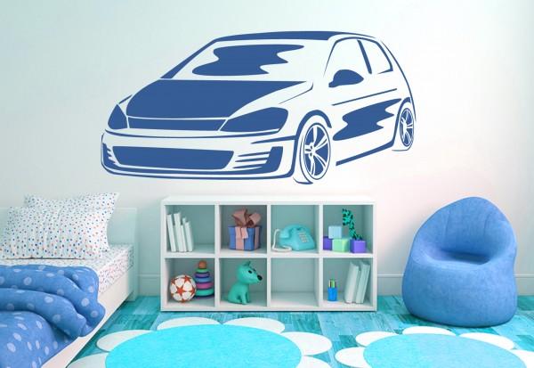 """Wandtattoo Kinderzimmer """"Fast Car 3"""""""