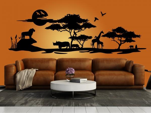 "Wandtattoo ""Afrika Savanne 2"""