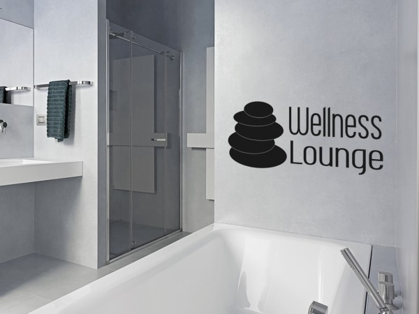 Wandtattoo - Wellness Lounge