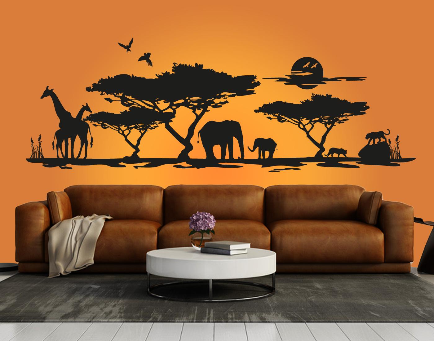 Schlafzimmer wandtattoos doarts - Schlafzimmer afrika ...