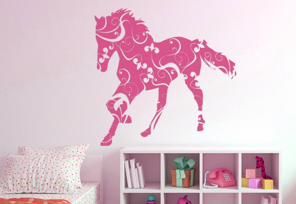 """Wandtattoo Kinderzimmer """"Pferd"""""""