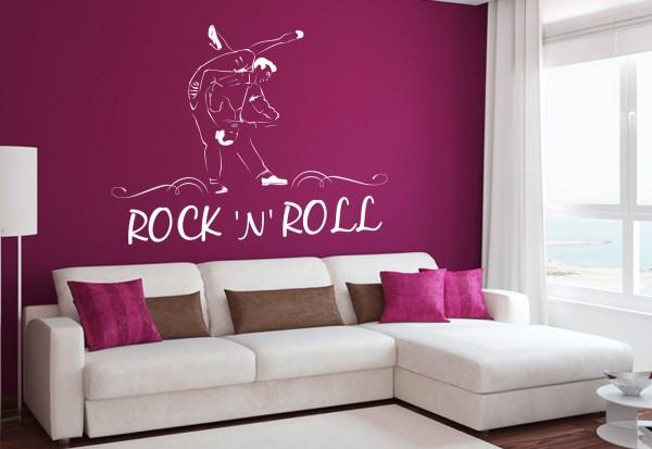 """Wandtattoo """"Rock'n'Roll Tanz"""""""