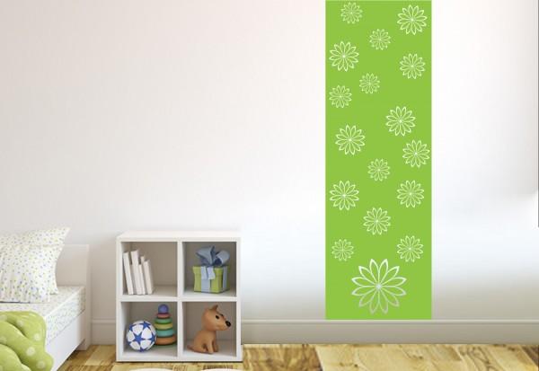 """Wandtattoo - Wandbanner Kinderzimmer """"Blumen"""""""