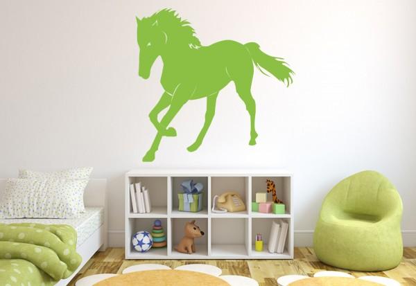 """Wandtattoo Kinderzimmer """"Pferd Galopp 3"""""""