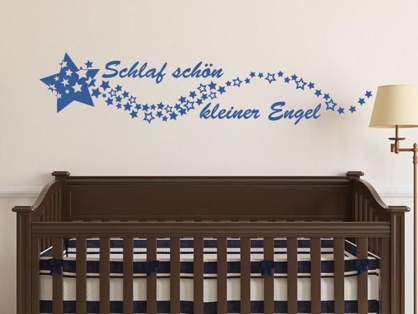 Wandtattoo - Schlaf schön kleiner Engel