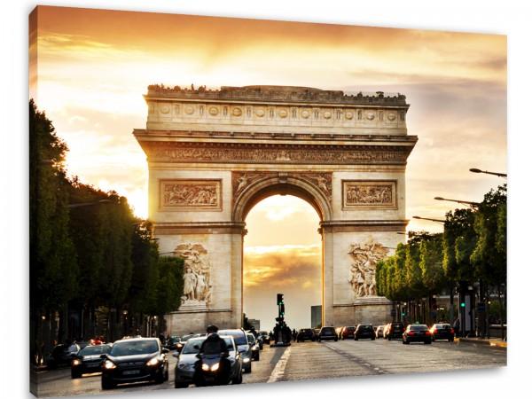 """Leinwandbild """"Paris Triumphbogen"""""""
